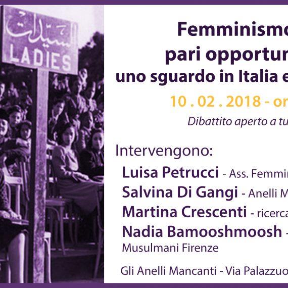 Femminismo e Pari Opportunità: uno sguardo in Italia e in Turchia
