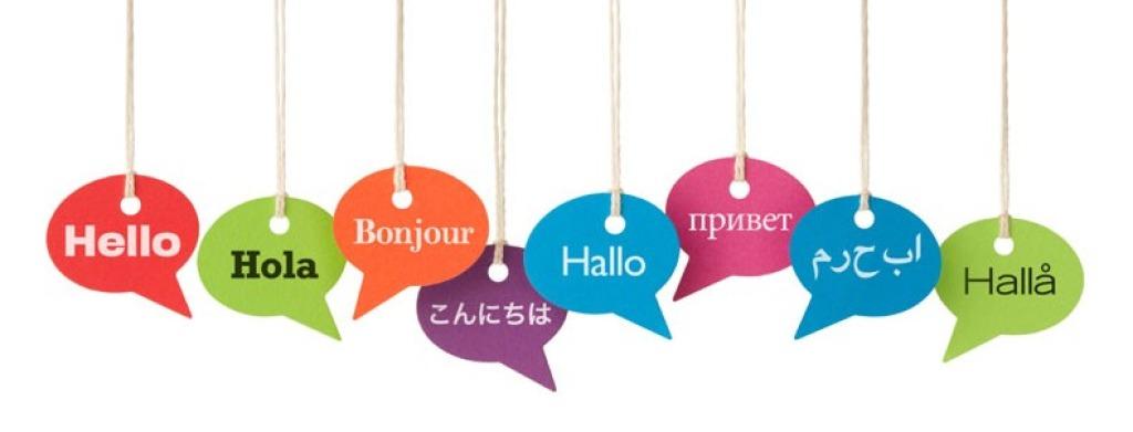 lingue straniere arabo tedesco inglese imparare anelli mancanti
