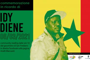 #FirenzeRicordaIdy: commemorazione per Idy Diene